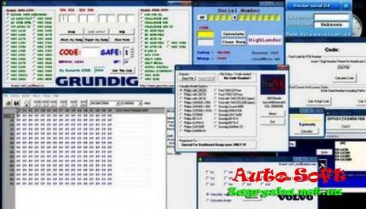 калькулятор кодов автомагнитол vw