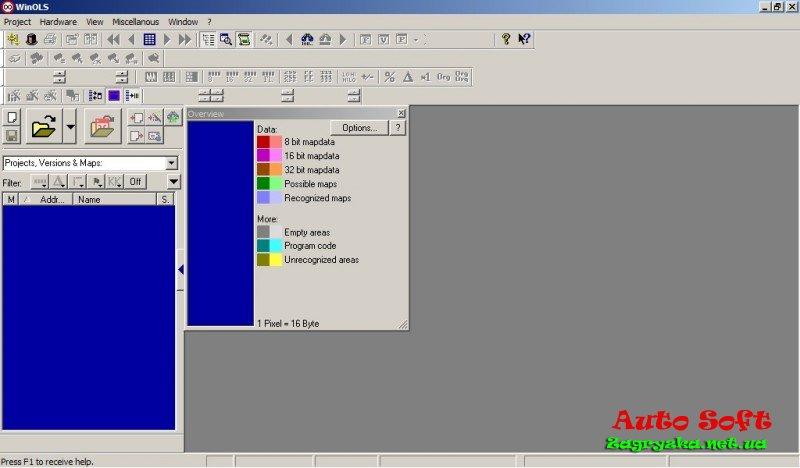 Программа редактор прошивок эбу