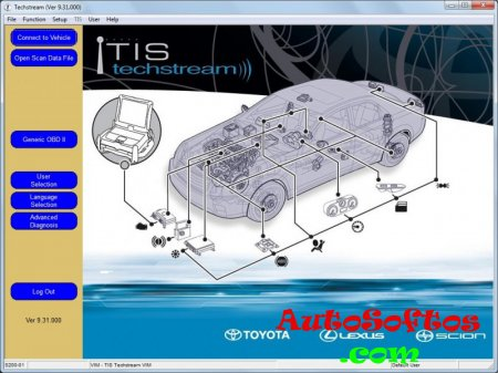 Toyota Techstream V9.31.000 [2014] Скачать