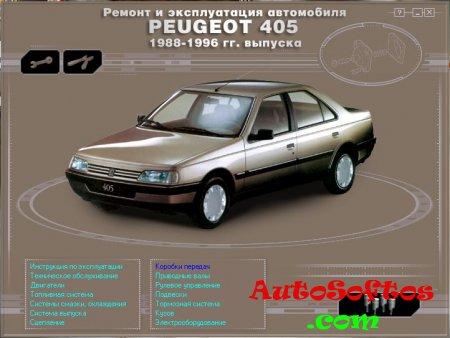PEUGEOT 005 (1988-1996) Мультимедийное описание в области эксплуатации да ремонту Скачать