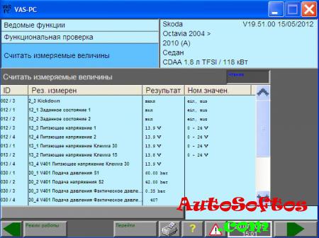 VAS PC v19 Исправление кракозябр RUS [2015] Скачать
