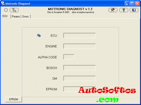 Motronic Diagnost ver 1.21 (диагностика Opel) Скачать