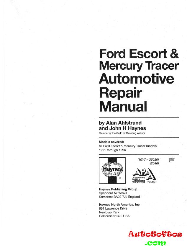 ford focus haynes manual pdf