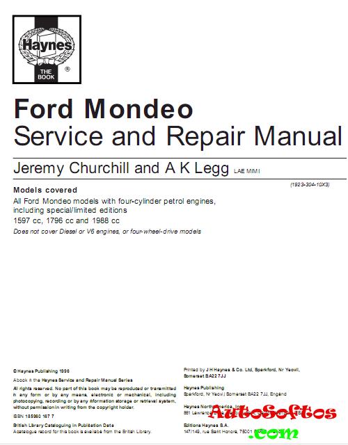 Инструкция По Эксплуатации Ford Mondeo