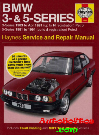BMW 3 & 5 Series Service and Repair Manual Haynes [1997, PDF, ENG] Скачать