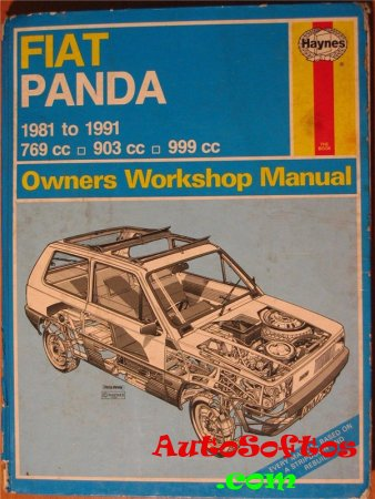 Fiat Panda Owners Workshop Manual (1981-1991) [1991, PDF] Скачать