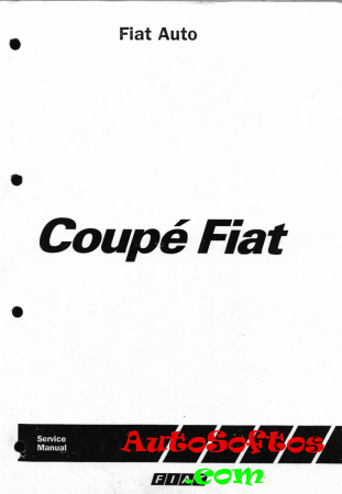 Fiat Coupe Workshop Manual 1995 [1995, PDF] Скачать
