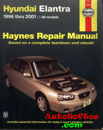Hyundai Elantra 1996-2001 Manual Repair Haynes [2002, PDF] Скачать
