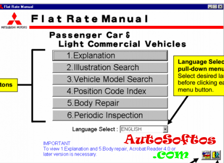 Mitsubishi Flat Rate Manual [2007, PDF, ENG] Скачать