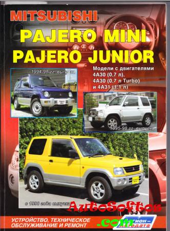 Руководство в области ремонту Mitsubishi Pajero Mini / Pajero Junior Скачать