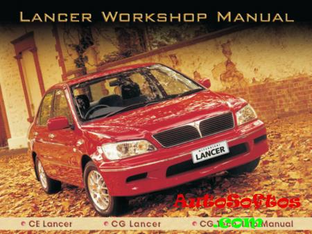 Mitsubishi Lancer CE / CG Workshop Manual [2002, PDF, ENG] Скачать