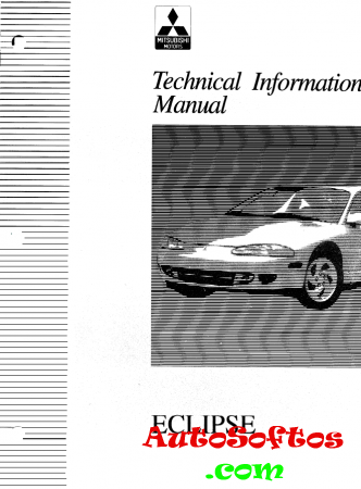 Mitsubishi Eclipse Technical Information Manual 1994 Скачать