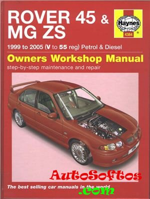 Rover 45 & MG ZS Series. Owners Workshop Manual Скачать