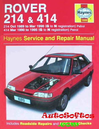 Rover 214 / 414 Service Repair Manual Скачать