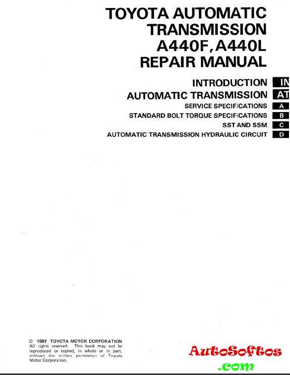a440f transmission specs