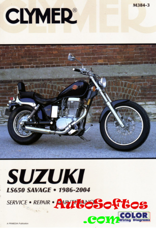 Suzuki LS 650 Savage 1986 - 2004 - Service Manual Скачать