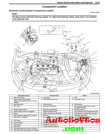 Suzuki SX4 service manual Скачать