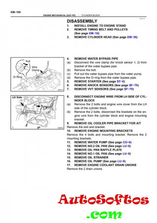 Toyota Tundra Factory Service and Electrical Manuals 2004 - 2006 SIL [HTML&PDF] Скачать