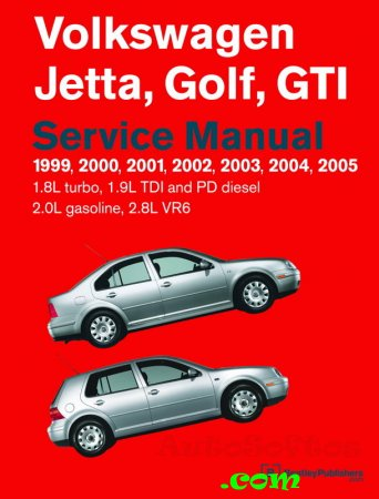 Руководство по ремонту Volkswagen Golf, Jetta, GTI Repair Manual (1999-2005) Скачать