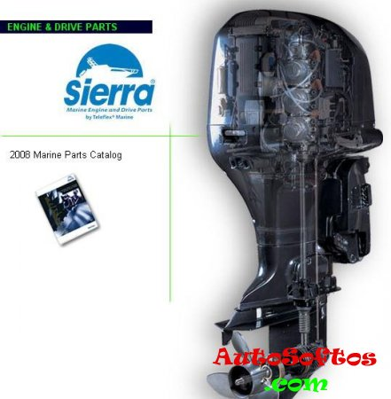 SIERRA MARINE PARTS CATALOG 2008 Скачать