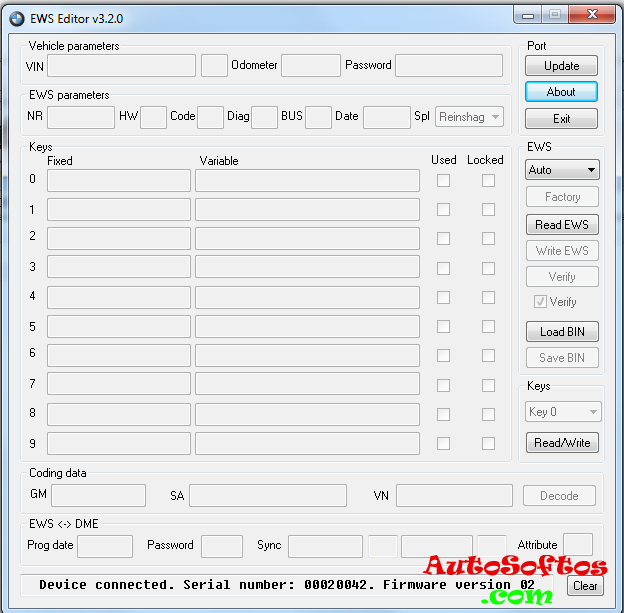 EWS Editor 3 2 0 full Скачать » AutoSoftos com Автомобильный
