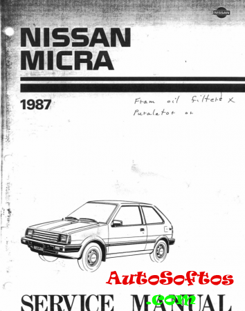 Nissan Micra Service Manual